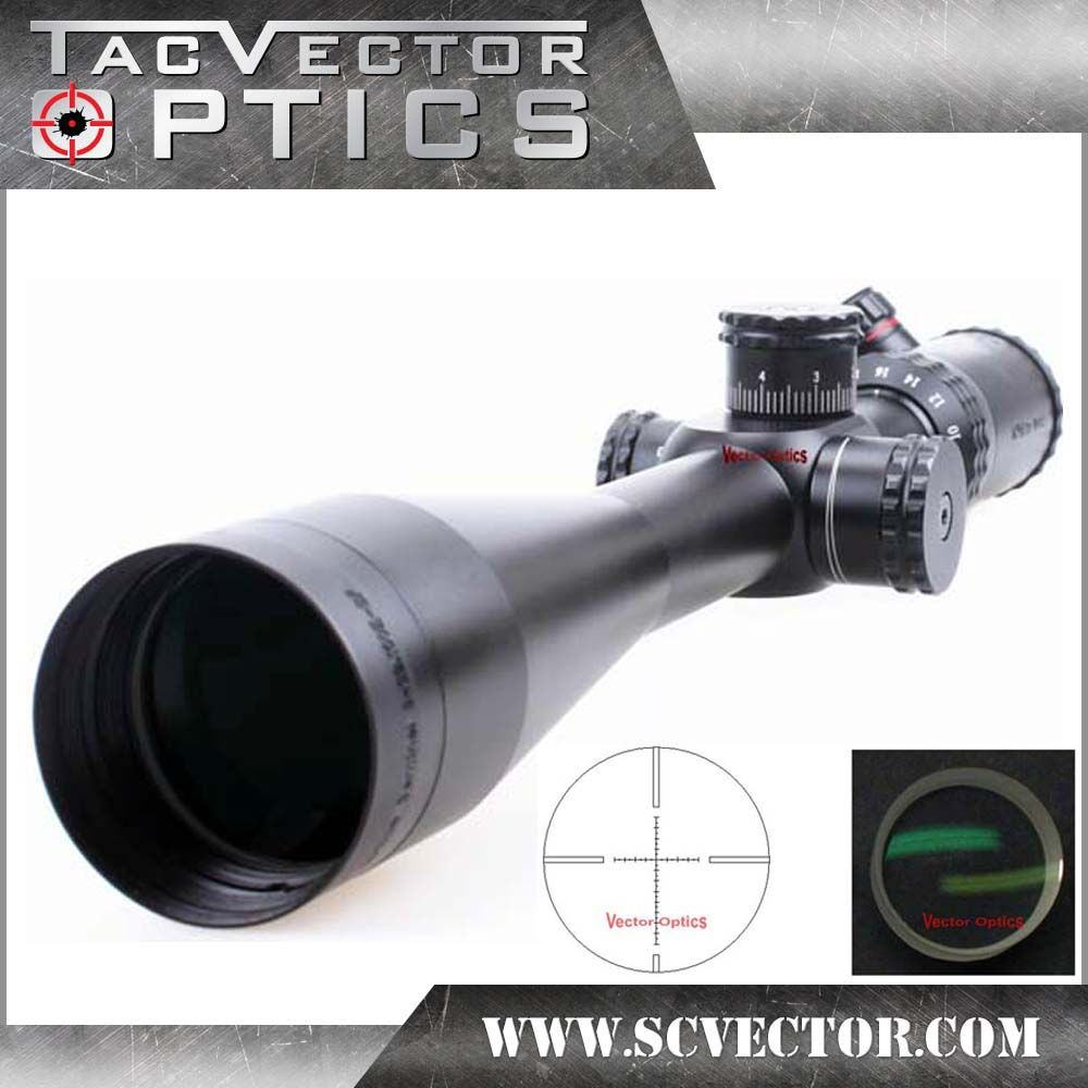 Vector Optics Sentinel 8-32x50 Tactical Rifle Scope Telescopic Sight with Mark Ring Honeycomb Sunshade for Hunting