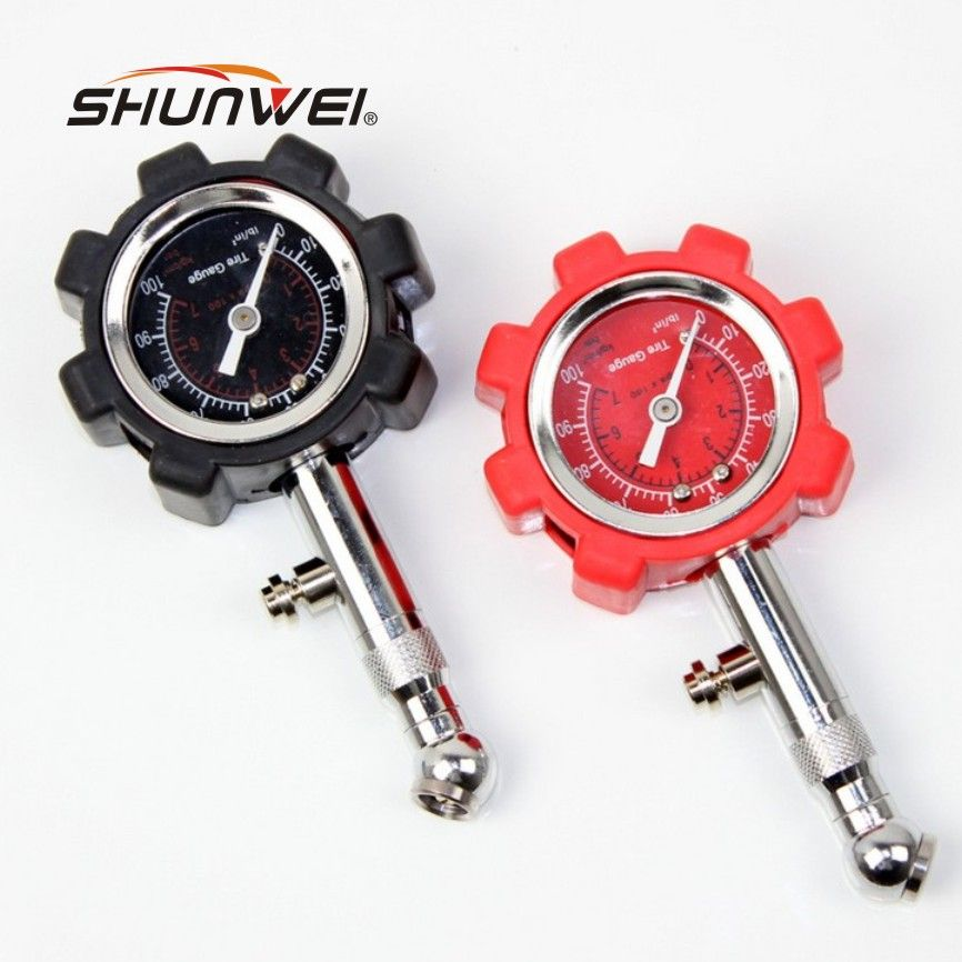 2017 High Precision Car Tire Pressure Meter Table Car Tire Pressure Gauge Protection Of Traffic Safety Car Accessory
