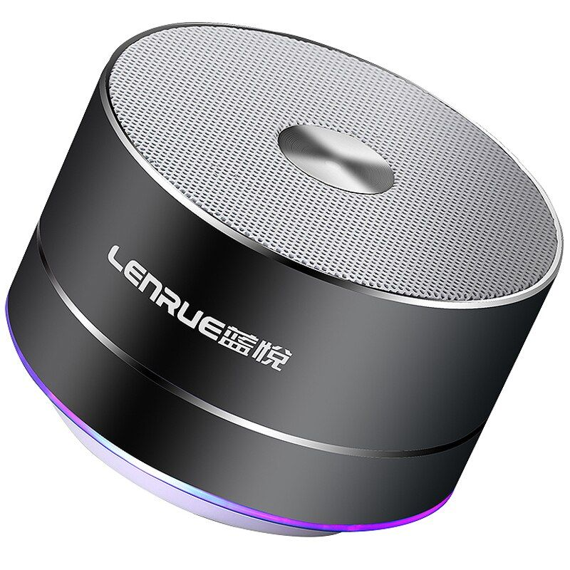 LENRUE Portable Wireless Bluetooth Speaker Stereo Mini Portable Speakers MP3 MINI Subwoof Smart <font><b>Loudspeaker</b></font>