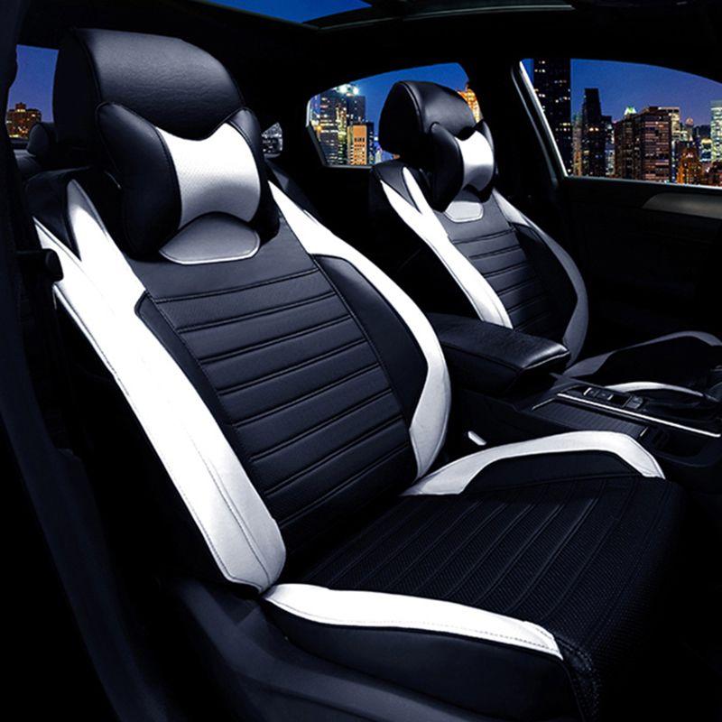 Пользовательские кожаные чехлы для сидений автомобиля для Mazda 3 6 2 C5 CX-5 CX7 323 626 M2 M3 M6 Axela Familia автомобиля аксессуары Тюнинг автомобилей