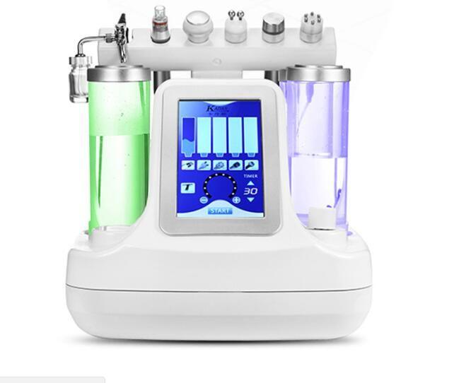 Trinkwasser 7 in 1 hydrodermabrasion wasser blase vakuum haut-peeling hydro gesichts reinigung maschine