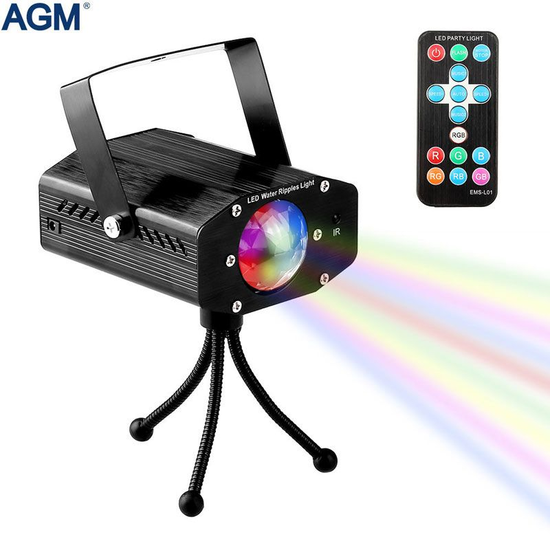 7 Colors Rotating Laser Projector Sound activated Lumiere Christmas Stage Lighting Effect Lamp Disco Party Club DJ Strobe Lights