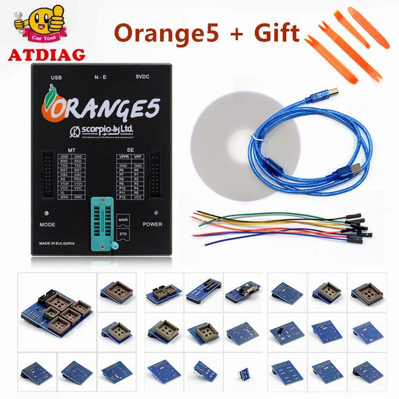 Free Shipping On Promotion Programmer OEM orange5 With Full Adapter orange5 programmer High Quality Orange 5