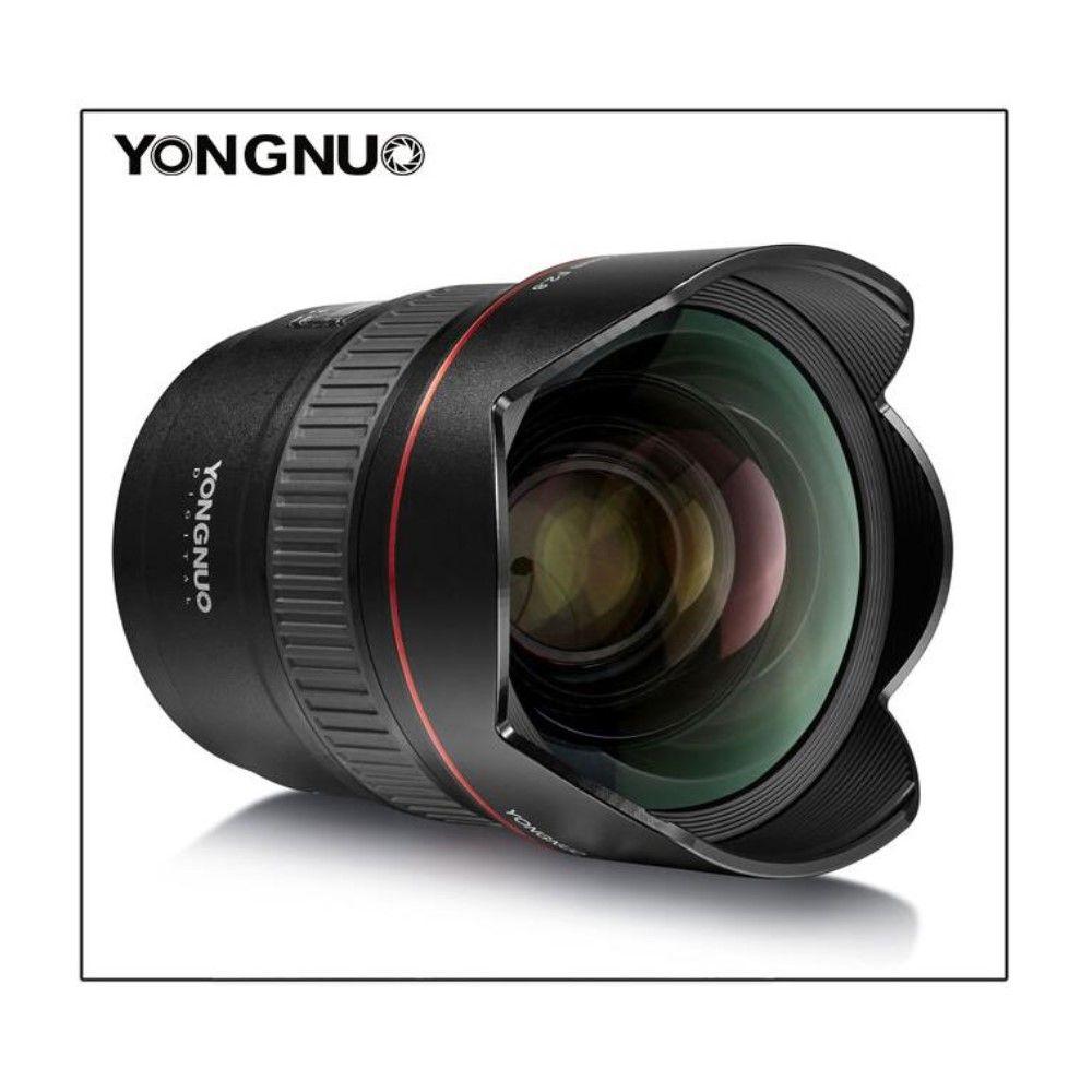 YONGNUO 14mm F2.8 Ultra-weitwinkel Prime Objektiv YN14mm Auto Focus AF MF Metall Montieren Objektiv für Canon 700D 80D 5D Mark III IV
