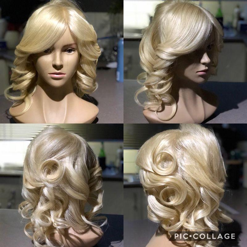 Best Female Hair Styling Mannequin Training Head 35cm Natural Human Hair Dolls Professional Maquiagem Manikin With Big Shoulder
