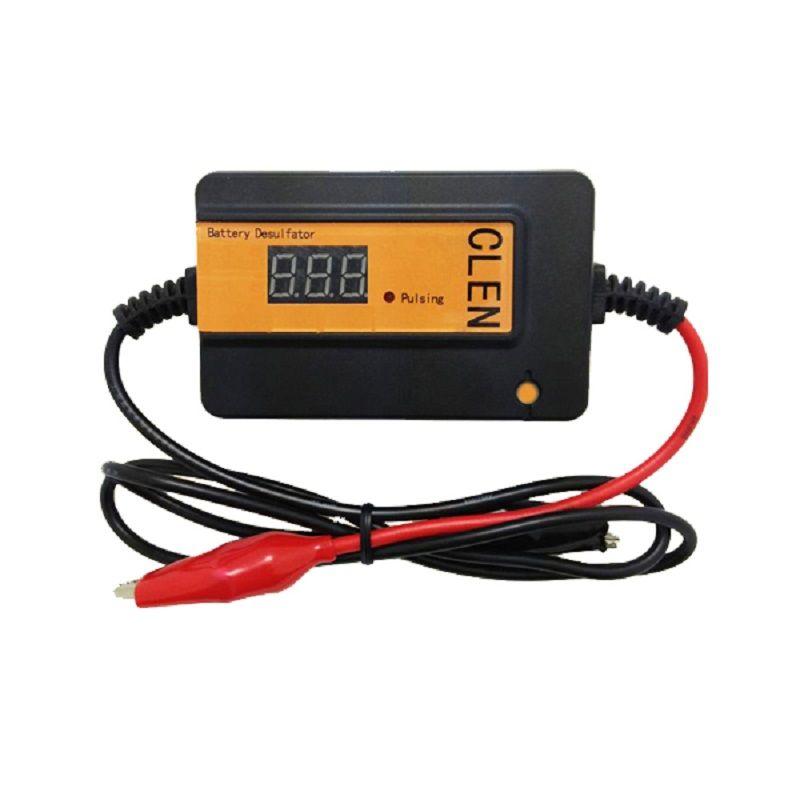 Livraison gratuite desulfateur d'impulsion automatique pour batteries au plomb, régénérateur de batterie, pour relancer et rejuverate la batterie