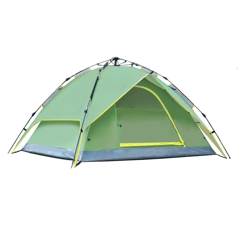 Camping Tents Outdoor Automatic open Family 3-4 Person Tourist Fishing tent hiking travel Portable tents double layer