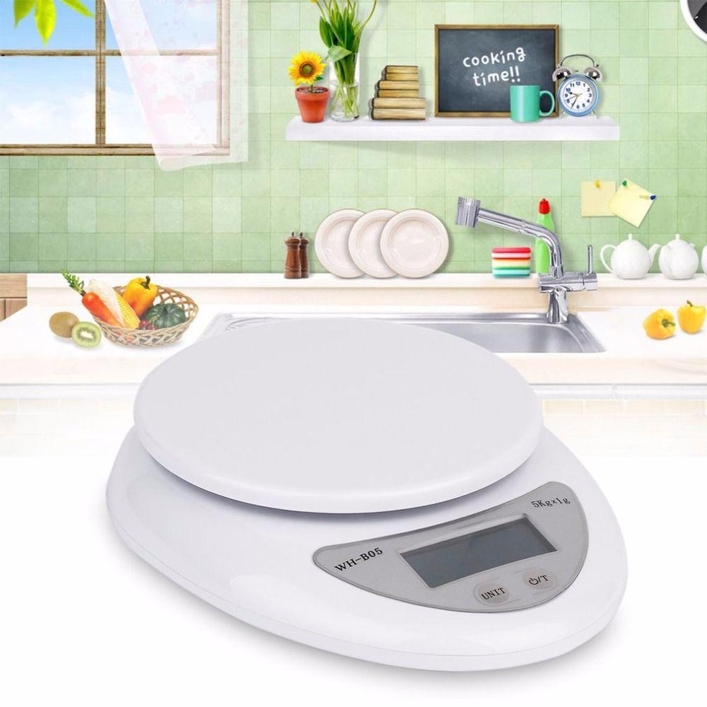OUTAD 5000g/1g précis Eelectronic LED numérique cuisine balances alimentaire régime Postal balance poids pondération cuisine Gadget 5 KG
