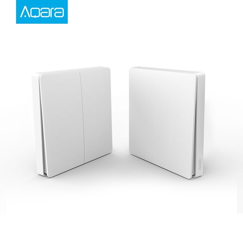 D'origine Xiaomi Aqara Smart Switch Lumière Télécommande ZiGBee wifi Sans Fil Interrupteur à Clé Mur travail avec mijia Mi Maison APP