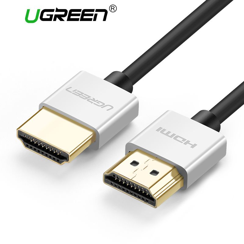 Ugreen Metall Hdmi-kabel 2,0 High Speed HDMI zu HDMI Kabel Stecker 0,5 Mt 1 Mt 1,5 Mt HDMI 2,0 4 Karat 1080 P 3D für PS3 projektor Apple TV