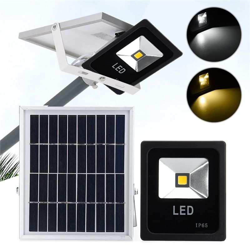 Solar Powered LED Solar Light Radar Motion Sensor Dusk to Dawn Flood Light Outdoor Garden Wall Street Garden Lamp