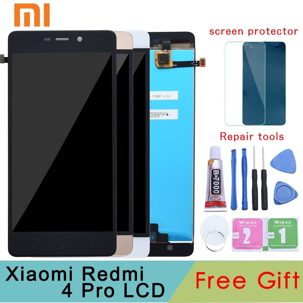 Tested Grade for Xiaomi Redmi 4 Pro Prime LCD Display Digitizer Touch Screen Assembly Frame TouchScreen Panel Replacement Parts
