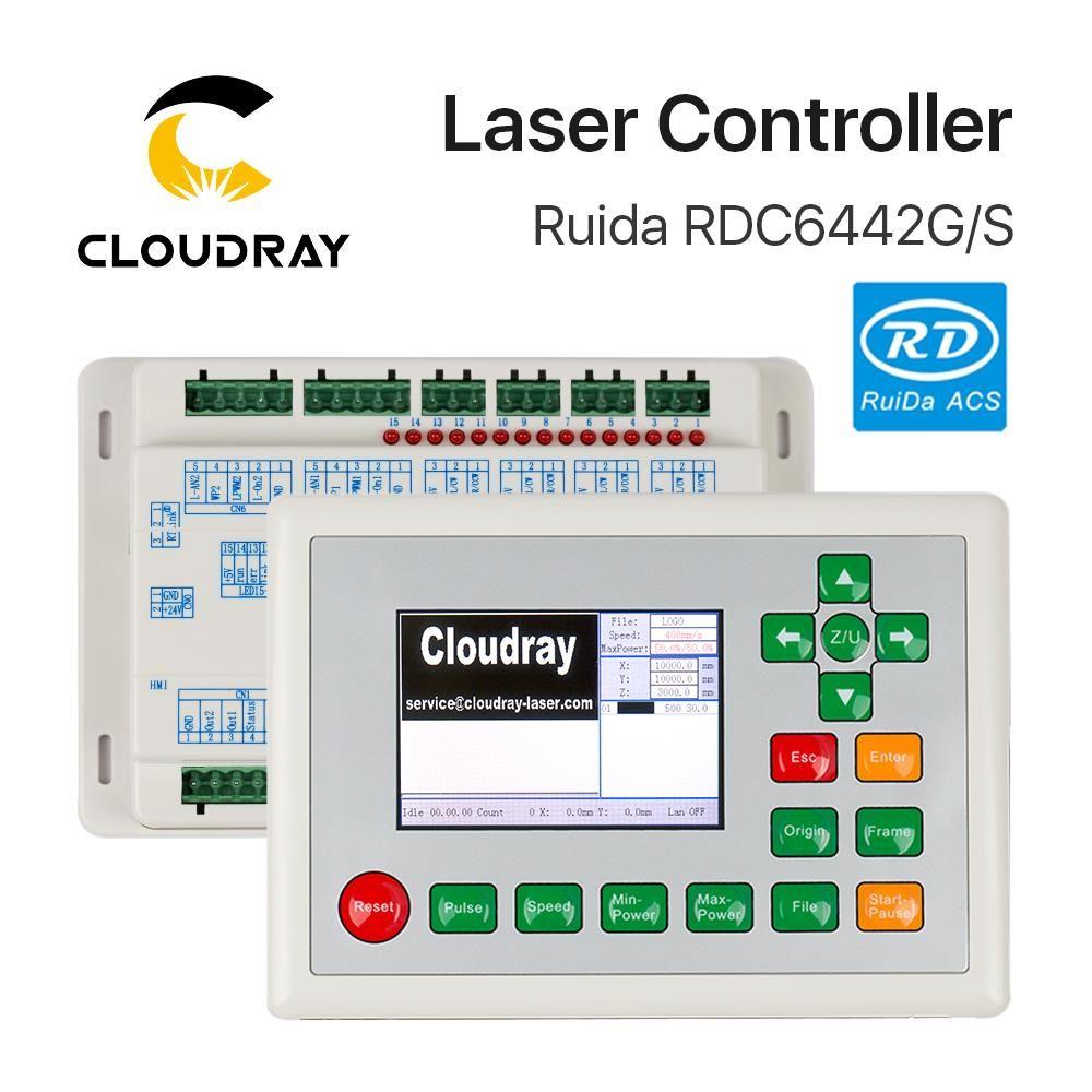 Cloudray Ruida RD RDC6442G Co2 Laser DSP contrôleur pour gravure Laser et Machine de découpe RDC 6442 6442G 6442S