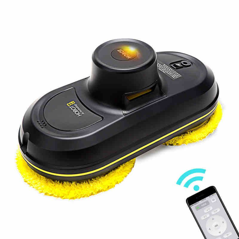 HOBOT Smart Automatic Window Vacuum Cleaner Cleaning Robot Vacuum Cleaners 5600Pa High Suction Remote Control Wet Dry Wiping z2