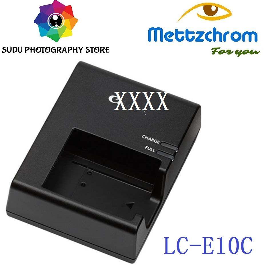 Pour Canon LC-E10E Chargeur Pour LP-E10 Batterie EOS 1100D 1200D 1300D T3 X50