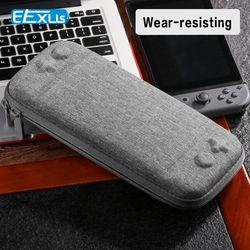 Elexus Tas Super Slim Membawa Tas untuk Nintendo Switch Konsol Permainan Kartu dengan Sempurna untuk Nintendo Switch Tas