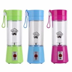 Electric Fruit Juicer Machine Mini Portable USB Rechargeable Smoothie Maker Shake Juice Slow Juicer Bottle Squeezers Cup