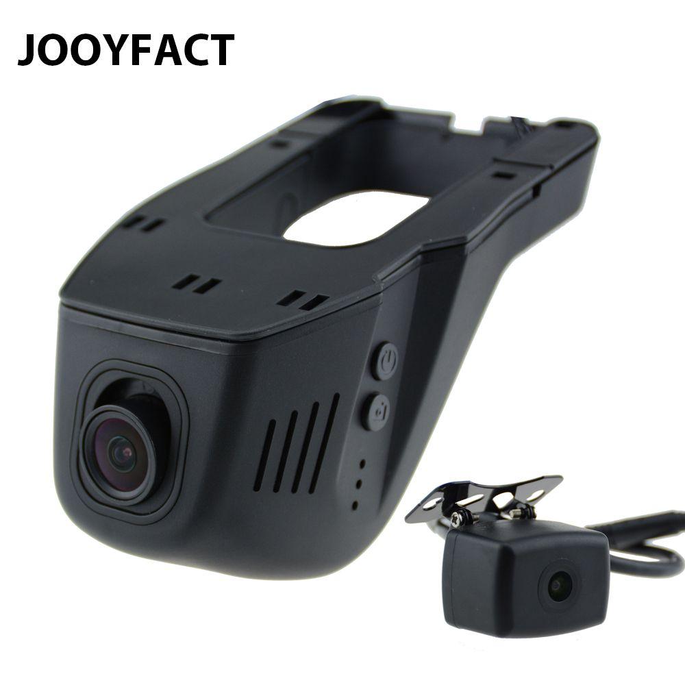 JOOYFACT A6 Car DVR DVRs Registrator Dash Cam Camera  Digital Video Recorder Dual Lens 1080P Night Version 96663 IMX 323 WiFi