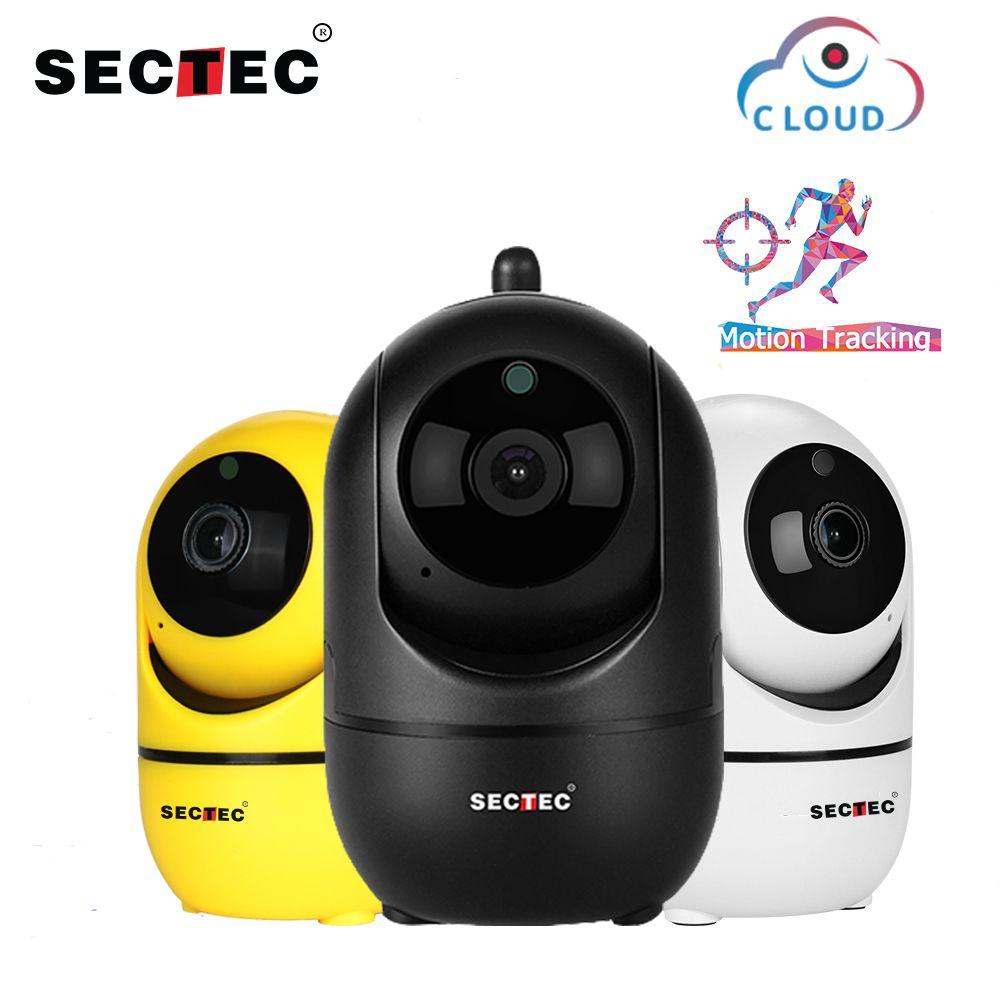 Caméra IP sans fil SECTEC Cloud 1080 P suivi automatique Intelligent de la Surveillance de la sécurité intérieure intérieure humaine réseau CCTV Wifi Cam