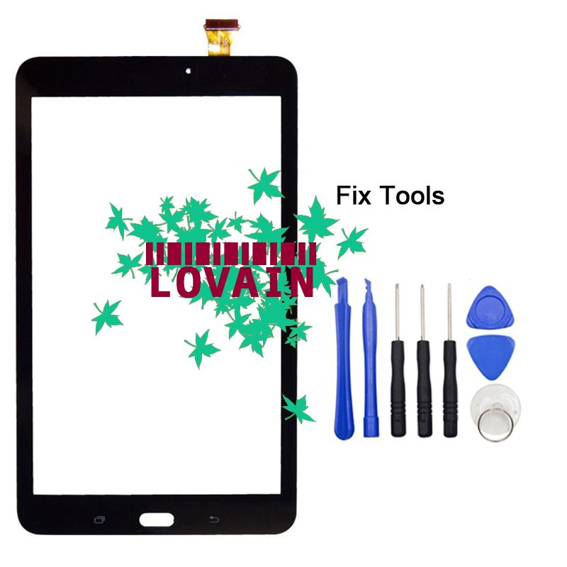 LOVAIN Original 1PCS Tested For Samsung Galaxy Tab E 8.0 T375 T375L T375S T377P Front Glass Lens Touch Screen Outer Panel+Tools