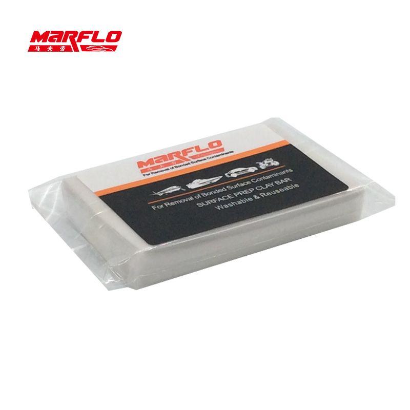 Marflo Auto voiture peinture soin magique argile Bar fin nettoyage détaillant rondelle blanc 100g dérouillant convertisseur décapant prévention