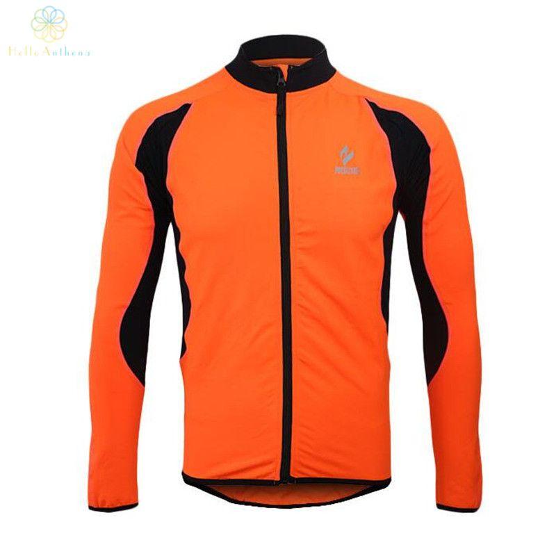 Cycling Running Zip Fleece Bike Outdoor Sports Fitness Long-Sleeved Jackets Warm Winter Men 2016 Jersey Clothing Thermal