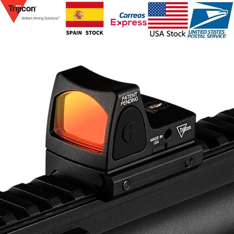 Mini collimateur à point rouge RMR Glock/lunette de visée réflexe pour fusil 20mm Weaver Rail Voor Airsoft/fusil de chasse/arme de poing