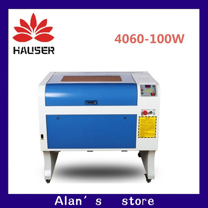 HCZ co2 laser CNC 100W 4060 laser engraving cutter marking machine mini laser engraver cnc router laser head diy