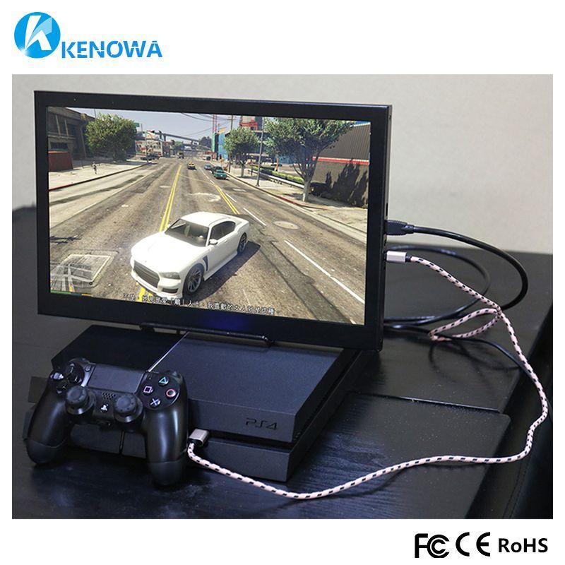 13,3 Tragbare Computer Monitor PC 1920x1080 HDMI PS3 PS4 Xbox360 1080 p IPS LCD LED Display Monitor für Raspberry Pi 3 B 2B