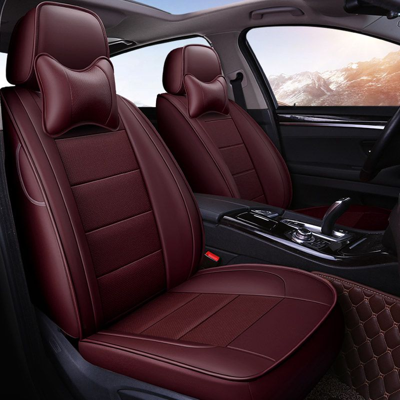 Yuzhe Авто кожаные чехлы для Toyota RAV4 Land Cruise Prado 150 Corolla Prius Reiz корона автомобили автомобильные аксессуары
