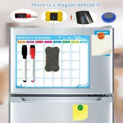 YIBAI A3 30*42 cm imán Plan pizarra refrigerador magnético impermeable dibujo tablero de mensajes con el regalo libre