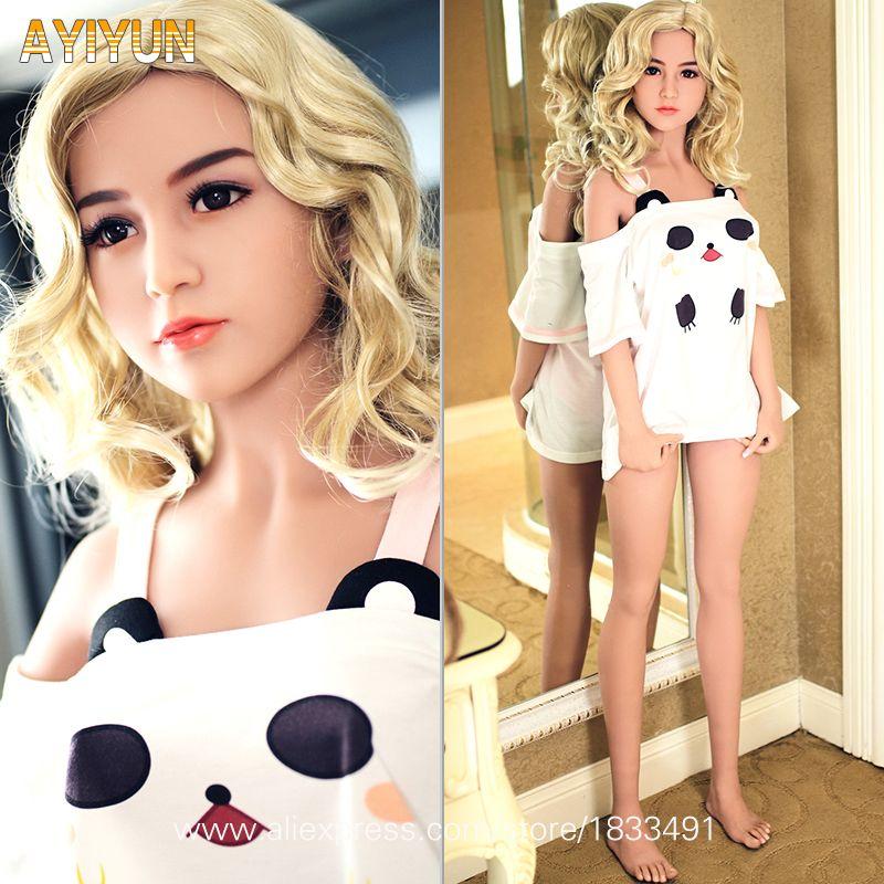 AYIYUN Sex Puppe mit Skelett Echt Silikon Sex Puppen für Mann Anime Liebe Puppen Japanischen Puppen für Erwachsene Vagina Echte pussy