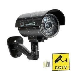 ZILNK модель камеры-пустышки Водонепроницаемая камера видеонаблюдения с мигающим красным светодиодным светом для наружного использования в ...