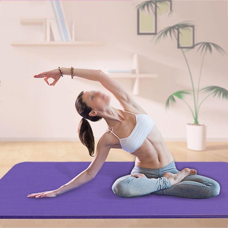 Gym Fitness Übung Pad Dicke, Nicht-slip Klapp EVA Pilates Lieferungen Non-skid Boden Yoga Matte 4 Farben
