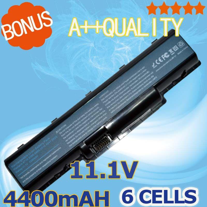 4400 мАч ноутбука Батарея для Acer as07a31 as07a32 as07a41 as07a42 as07a51 as07a52 as07a71 as07a72 as07a75 as2007a bt.00603.036
