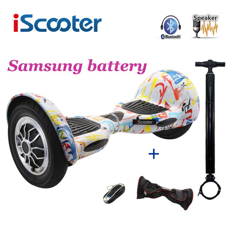 IScooter Hoverbaord 10 zoll 700 watt Samsung batterie Elektrische selbst ausgleich Roller für Erwachsene Kinder skateboard 10 räder giroskuter
