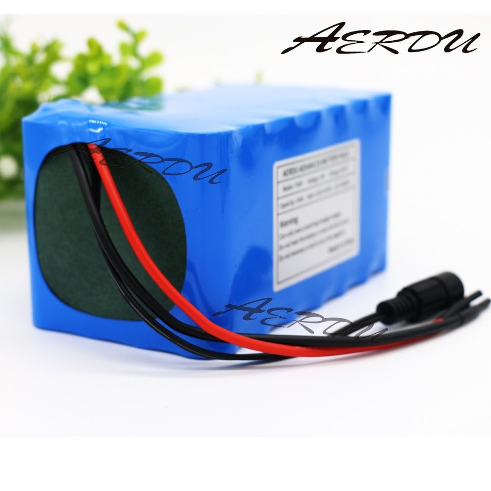 AERDU 7S4P 10Ah 18650 24V 25.9V 29.4V lithium battery pack electric bicycle unicycle ebike Li-ion batteries built-in 15A BMS