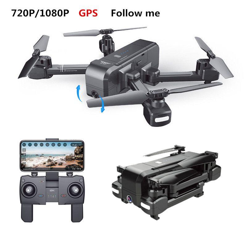 SJRC Z5 Quadcopter GPS Eelfie RC Drone Mit WIFI FPV 720 p/1080 p Kamera Gefaltet Hubschrauber Einstellbare Kamera eders VS XS812 B5W X16