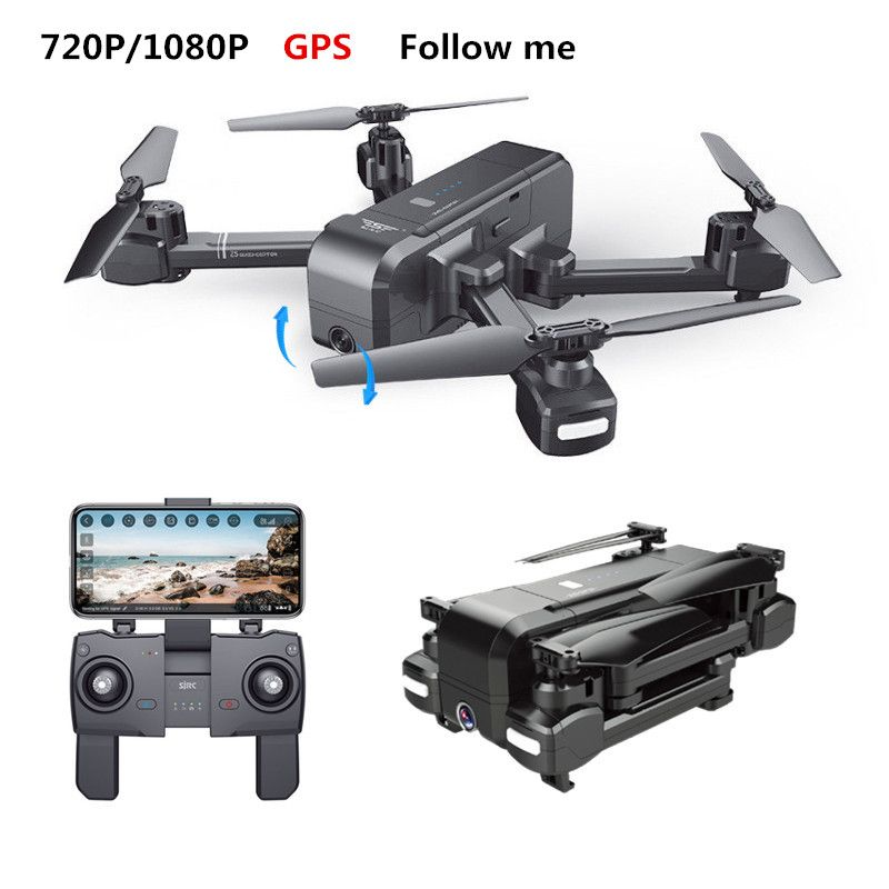 SJRC Z5 Quadcopter GPS Eelfie RC Drone With WIFI FPV 720P/1080P Camera Folded Helicopter Adjustable Camera Dron VS XS812 B5W X16
