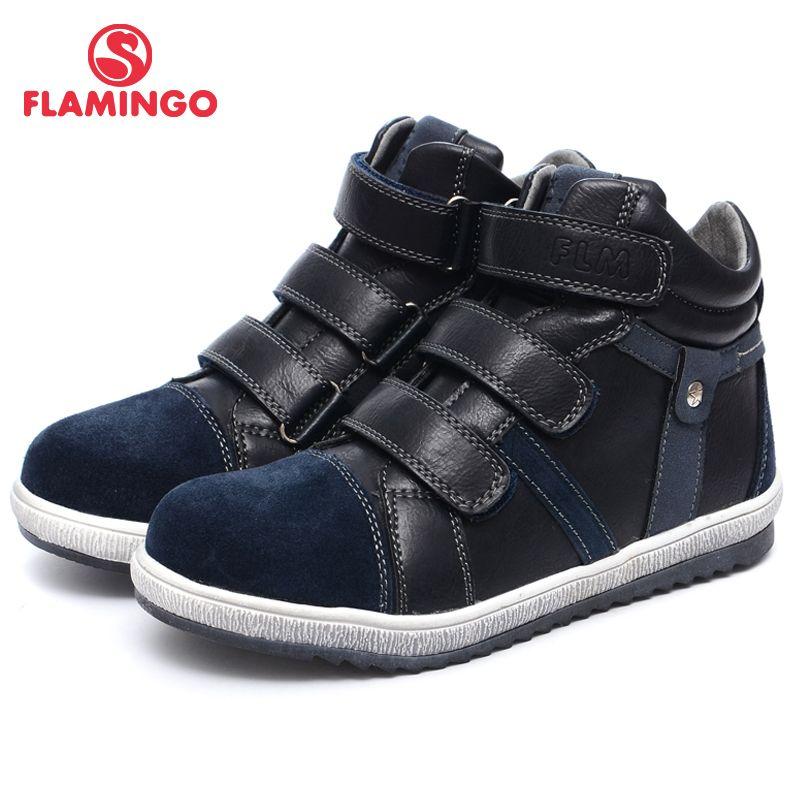 QWEST (FLAMINGO) herbst Filz Anti-slip mode kinder stiefel hohe qualität kinder schuhe für jungen Größe 31-36 Freies verschiffen w6XY231/232