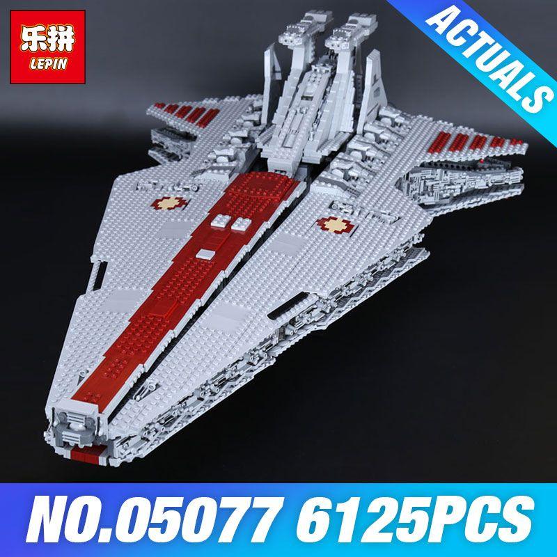 DHL Lepin 05077 Die UCS Rupblic Star Destroyer Plan Cruiser ST04 Set Wars Bausteine Ziegel Pädagogisches DIY Kinder Spielzeug