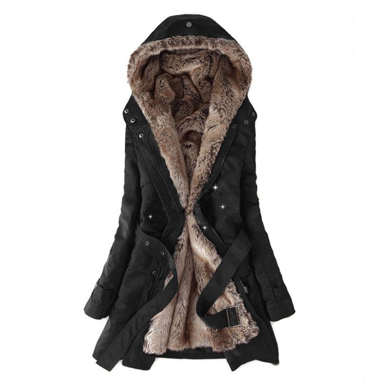 Women Winter Jacket 2018 Casual Ladies Basic Coat jaqueta feminina jacket Warm Long Sleeve women parkas