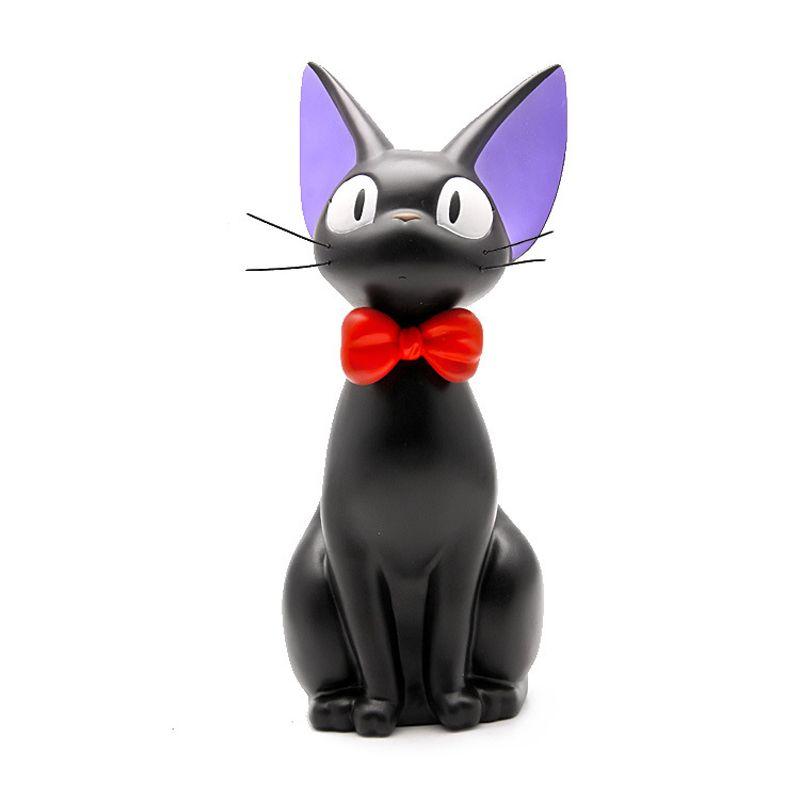 BRICOLAGE Studio Ghibli Miyazaki Kiki la petite sorcière Kiki Chat PVC Figurine Jouets Tirelire Tirelire Modèle De Collection jouet