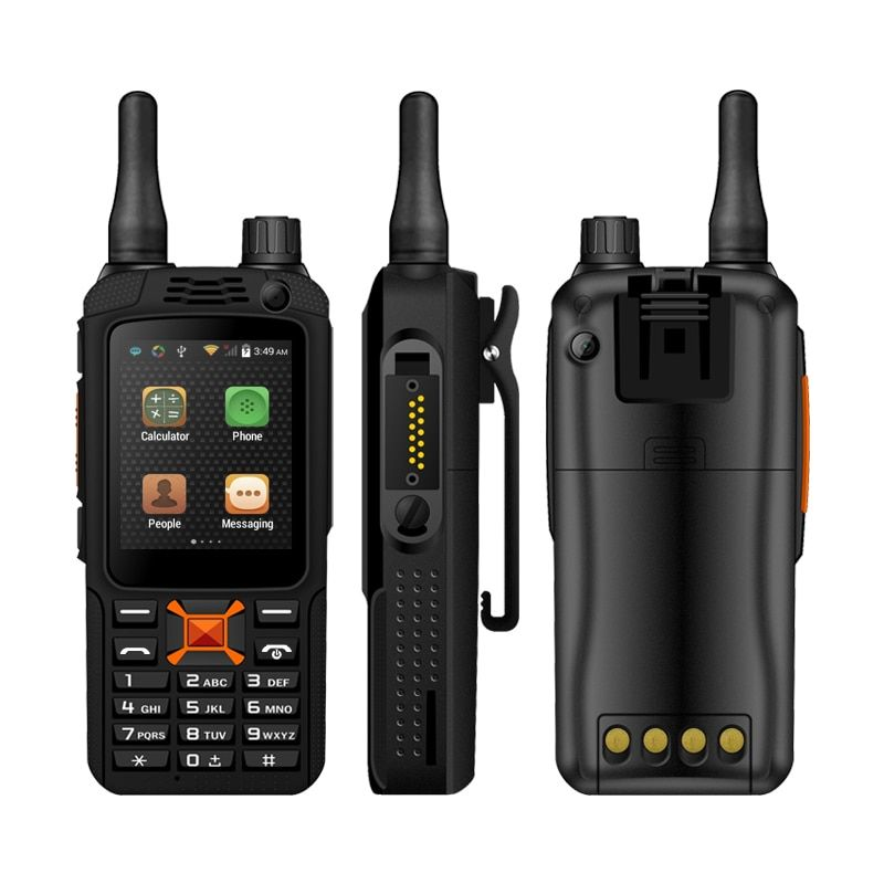 F22 plus SIM card radio WIFI WCDMA waterproof walkie talkie Android Smart outdoor GPS Zello PTT 3G Network intercom Radio