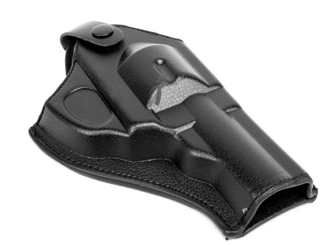 HOT! Leather Revolver Holster (Short)  Outdoor Hunting Airsoftsports Military Tactical Right-hand Police pistol Holster Black