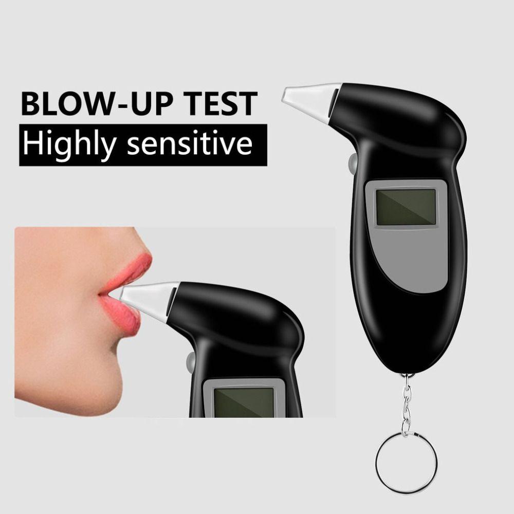 Testeur d'alcoolémie numérique alcootest analyseur détecteur Test trousseau alcootest alcootest dispositif LCD affichage