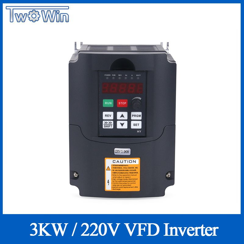 CNC Spindel Motor Speed Control 220v 3kw HY VFD Variable Frequency Drive 1HP/3HP Eingang 3HP Ausgang Frequenz inverter Konverter