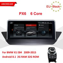 Andream 10,25 zoll IPS Android 8.1 6 Core GPS Navigation Multimedia Player Für BMW X1 E84 Wifi Lenkrad ID6 Interface