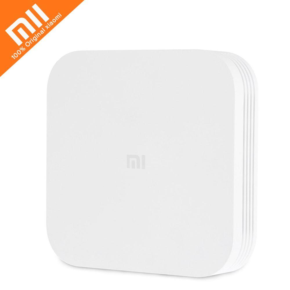 Original Xiao mi mi TV Box 3 Verbesserte Smart Set-top Box Android 5.1 4 karat HD 2 gb 8 gb Dual Core 2,4 ghz 5 ghz Dual Wifi Bluetooth 4,1