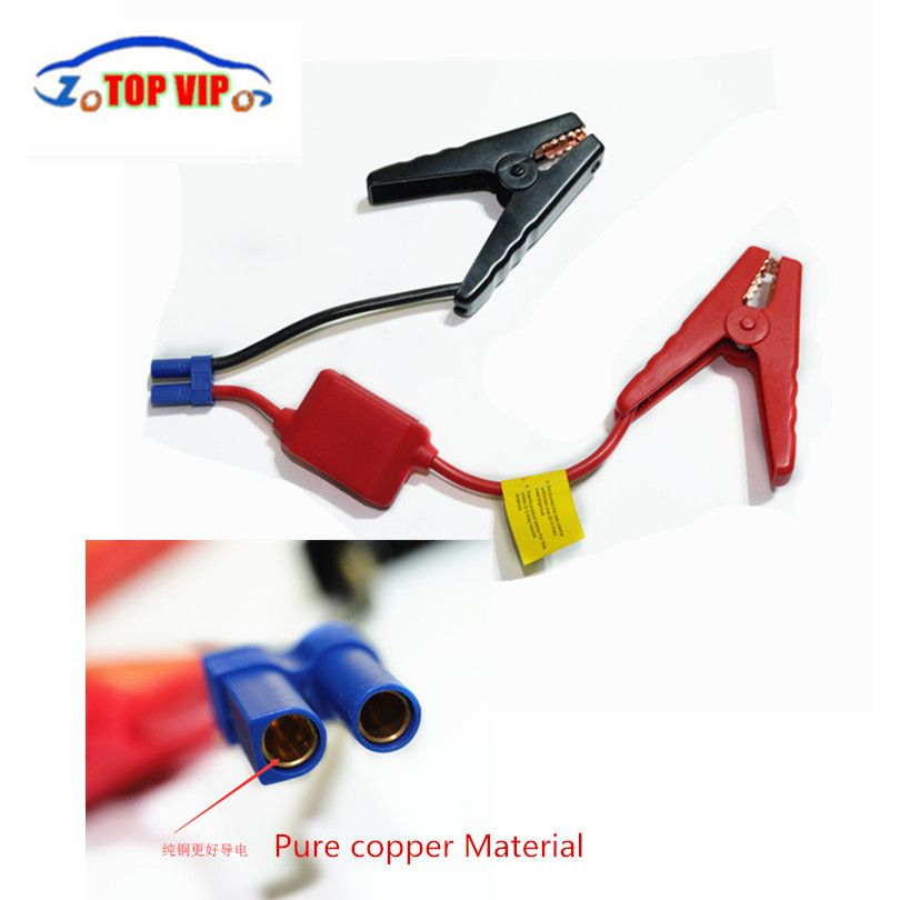 A++  quality clips for car emergency  starter / Auto engine booster storage battery clamp accessories wire clip in Stock